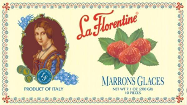 La Florentine Marrons Glaces, 7.1 oz (10 Pieces)