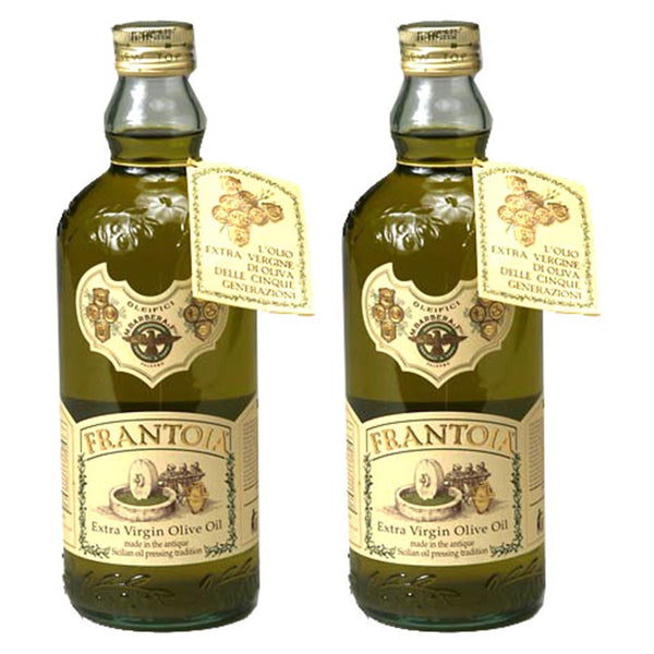 Frantoia Barbera Extra Virgin Olive Oil, Sicily- 2x 1LT Bottles
