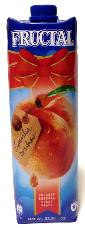 Fructal Peach, 33.8 fl oz