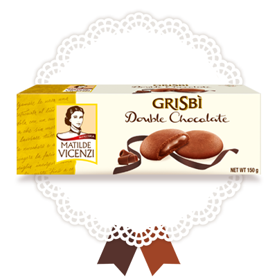 Grisbi Double Chocolate, 150g