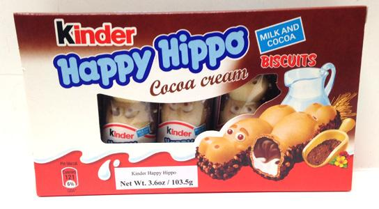 Kinder Happy Hippo Cocoa Cream, 103.5g