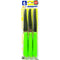 Inoxbomi Table Knife 11 cm GREEN, Set of 6 Pcs