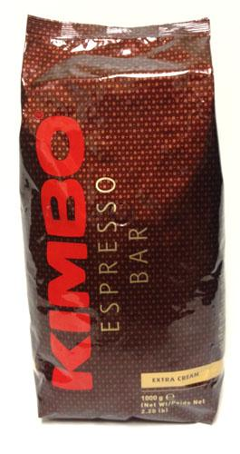 "Kimbo Espresso Bar ""Extra Cream"" Beans 2.2 Lbs Bag"