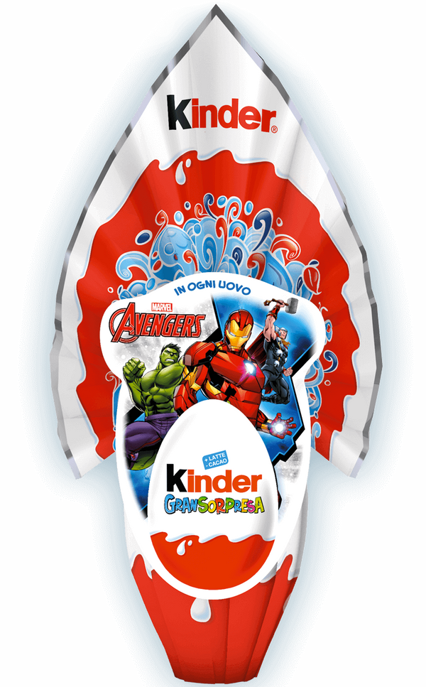 Kinder Gran Sorpresa LUI (Boy) Chocolate Easter Egg, 150g