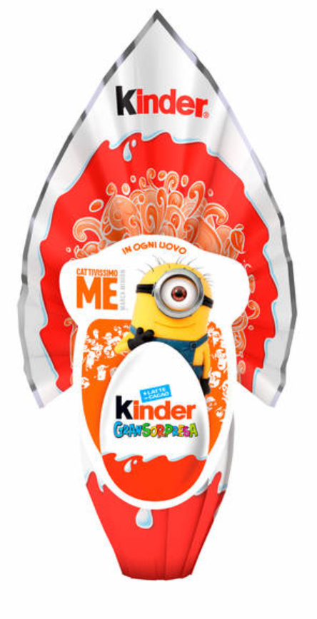 Kinder Gran Sorpresa Chocolate Easter Egg Unisex, 150g