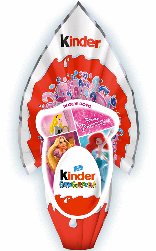 Kinder Gran Sorpresa LEI (Girl) Chocolate Easter Egg, 150g