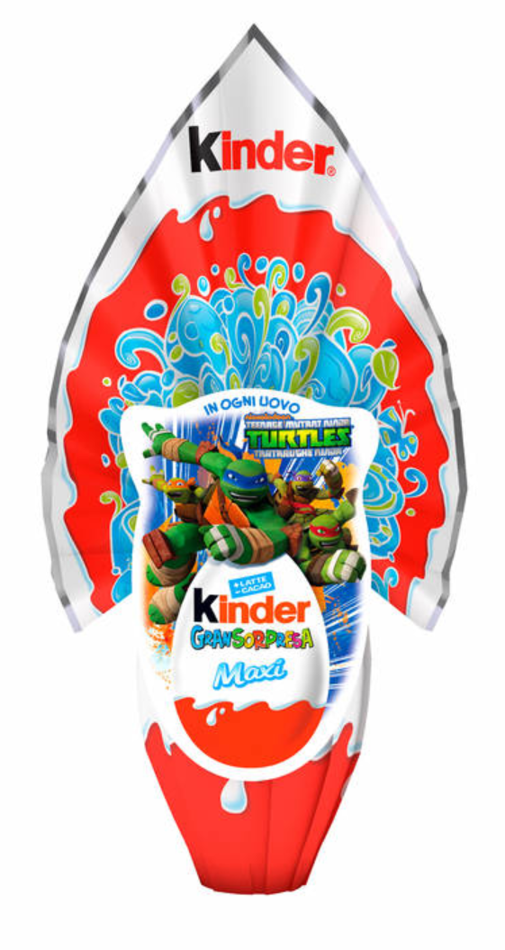 Kinder Gran Sorpresa Maxi LUI (BOY) Chocolate Easter Egg, 220g