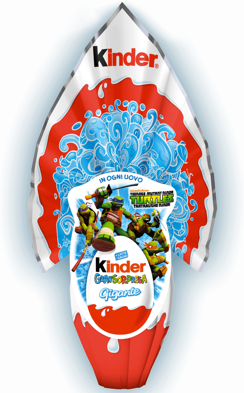 Kinder GranSorpresa Gigante Lui Boy Chocolate Easter Egg, 320g