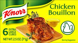 Knorr Chicken Bouillon 6 Cubes, 66g