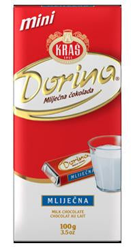 Kras Dorina Milk Chocolate Bar, 200g
