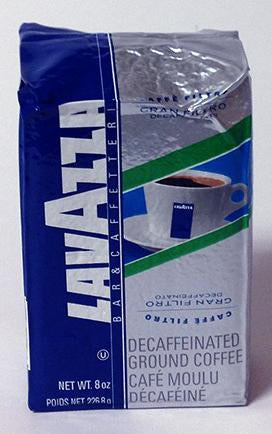 LavAzza Gran Filtro Decaffeinated, Brick 8 oz