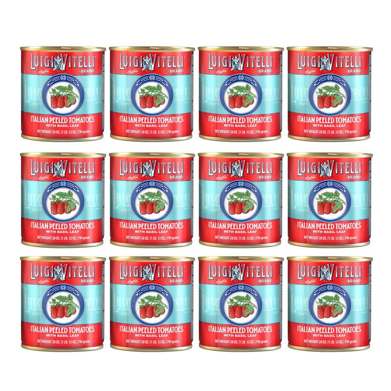 Luigi Vitelli Italian Plum Tomatoes, 1 lb 12 oz. | 28 oz Can
