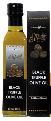 La Madia Regale Black Truffle Olive Oil 8.5 Fl.oz.
