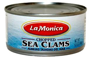 LaMonica Chopped Sea Clams 6.5oz