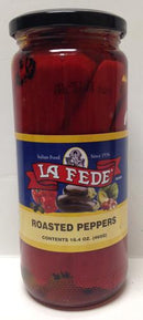 La Fede Roasted Peppers, 465g