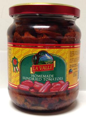 La Valle Homemade Sundried Tomatoes, 550g
