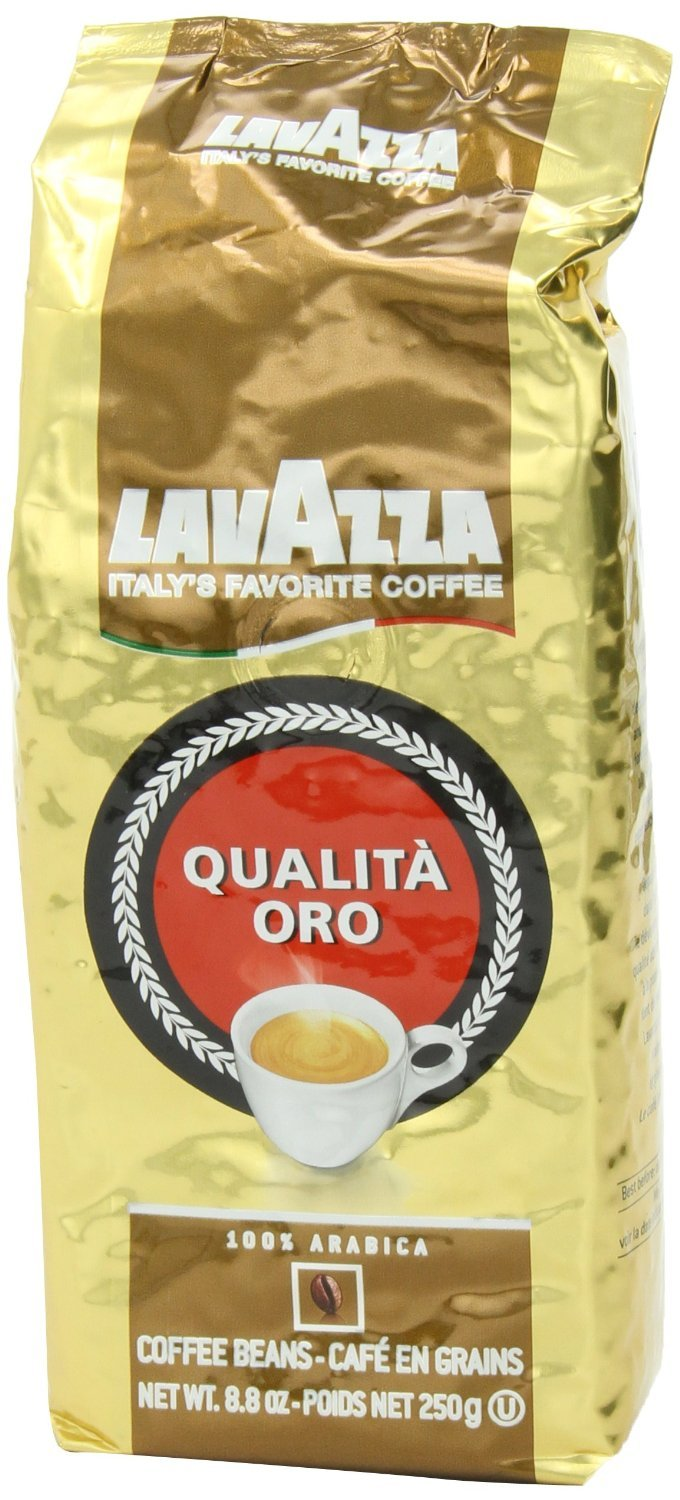 LavAzza Qualita Oro 100% Arabica, Coffee Beans, 250g
