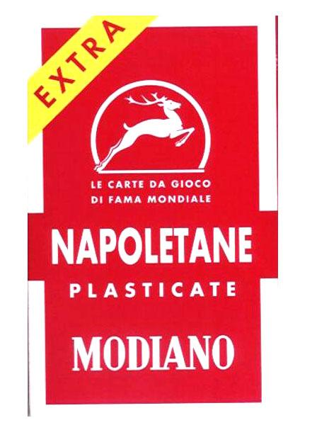 Modiano Napoletane Playing Card 97 / 25