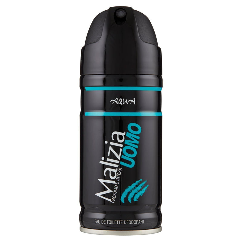 Malizia Uomo Deodorant Spray Aqua, 150ml