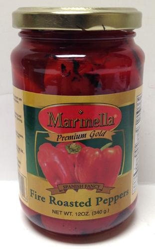 Marinella Fire Roasted Peppers, 12 oz
