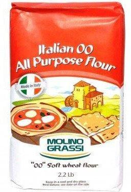 "Molino Grassi ""00"" All Purpose Flour, 1kg"