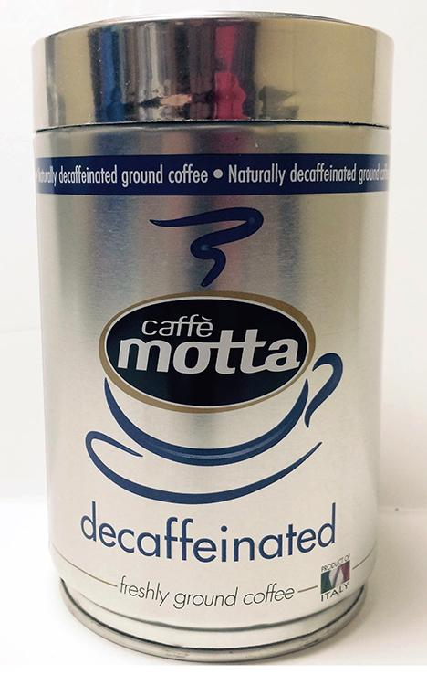 Caffe Motta Decaffeinated, 250g TIN