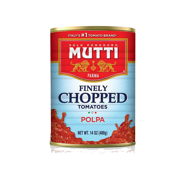 Mutti Finely Chopped Tomatoes, 14 oz