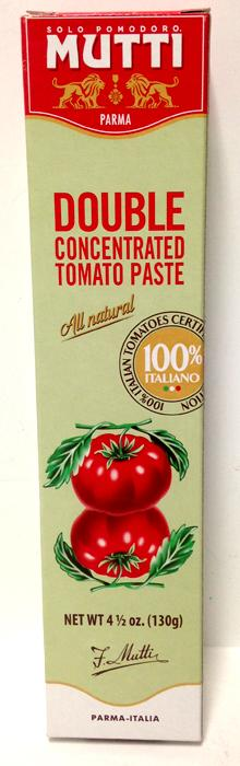 Mutti Double Concentrated Tomato Paste, 130g