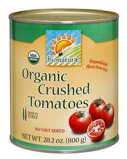 Bionaturae Organic CrushedTomatoes, 28.2 oz.
