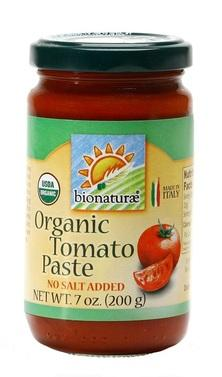 Bionaturae Organic Tomato Paste, 7 oz