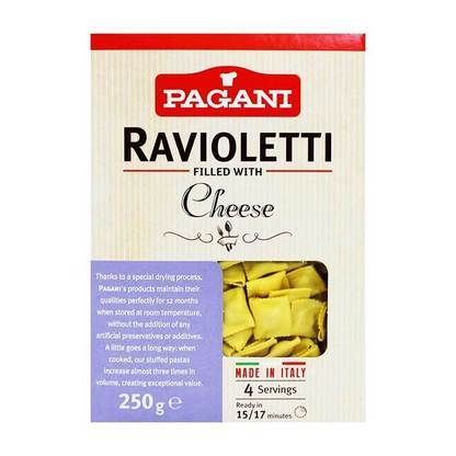 Pagani Ravioletti Filled with Cheese, 8.8oz