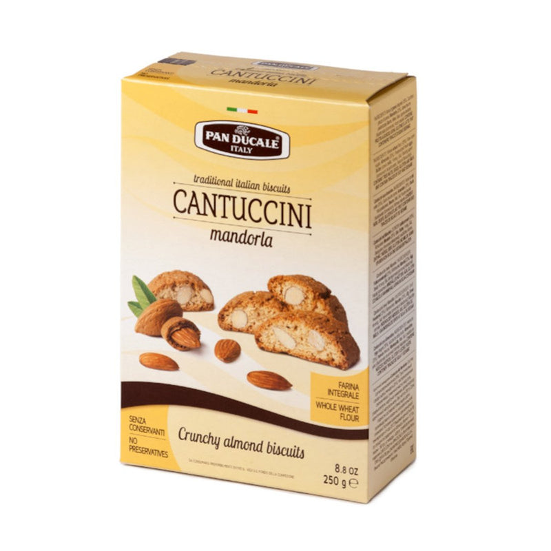 Pan Ducale Cantuccini Crunchy Almond biscuits, 8.8 oz