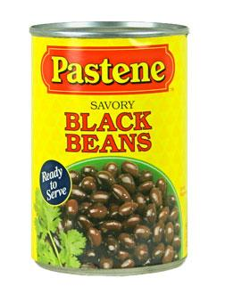 Pastene Black Beans 15.5 oz Can