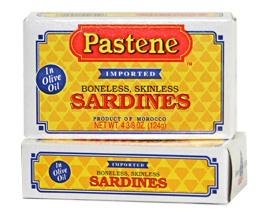 Pastene Boneless and Skinless Sardines - 4 3/8 oz
