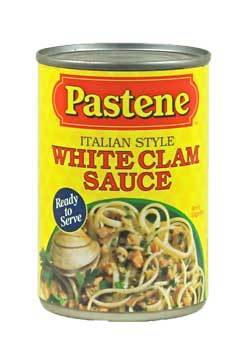 Pastene White Clam Sauce  15oz can