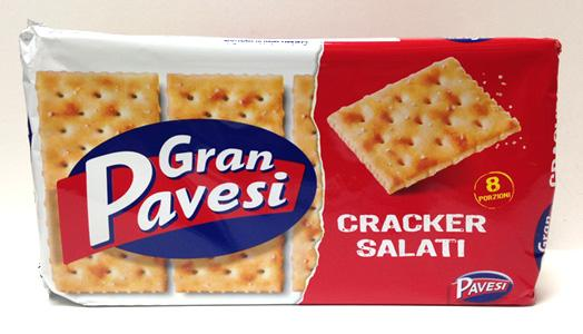 Pavesi Salted Crackers, 250g