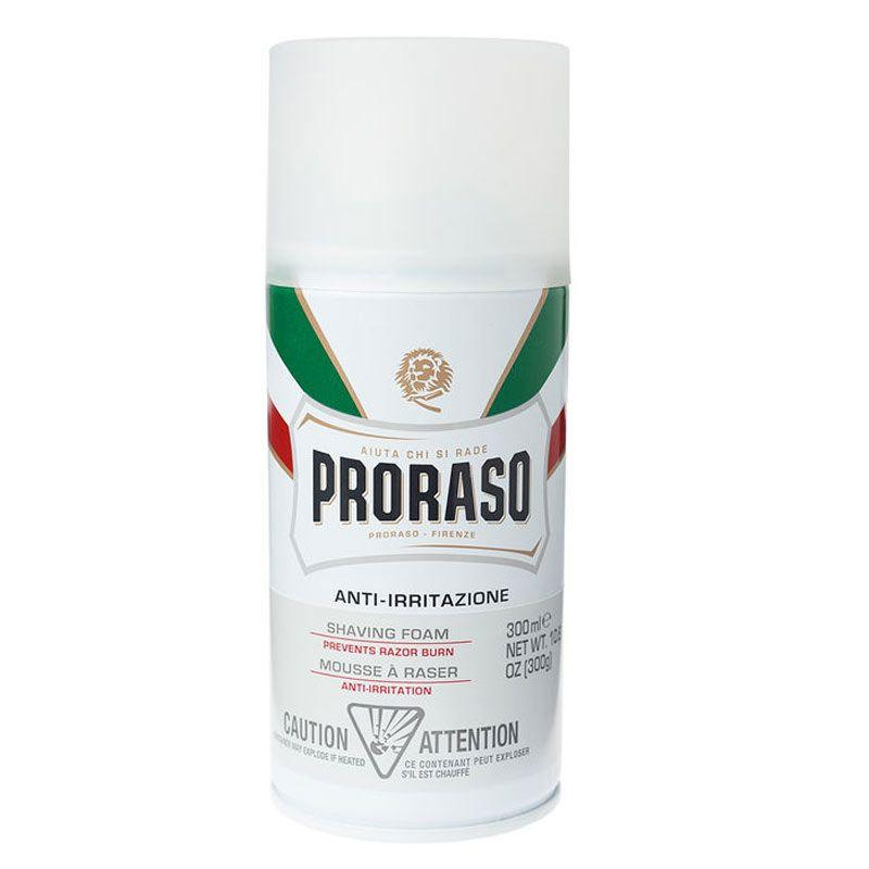 Proraso Shaving Foam- Sensitive Skin Formula, 10.6 oz