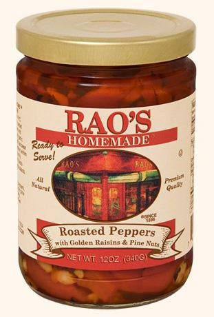 Rao's Roasted Peppers with Golden Raisins & Pine Nuts, 12oz
