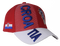 Red Croatia 3D Embroidery Hat, Adult