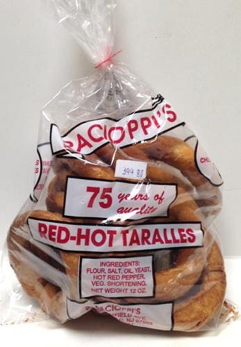 Racioppi's Red Hot Taralli, 12 oz