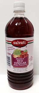 Salvati Distilled Red Vinegar (Wine Flavor), 32 fl oz