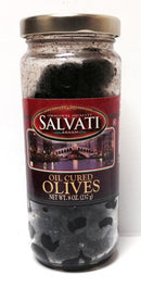 Salvati Oil Cured Olives, 8 oz