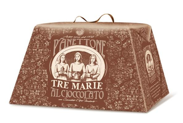 Tre Marie Panettone Chocolate Extra Dark Chocolate, 850g