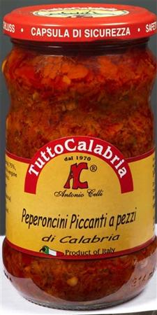 Tutto Calabria Crushed Hot Chili Peppers 10.2 oz
