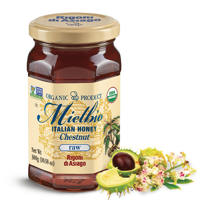 Rigoni di Asiago Italian Honey Chestnut, Raw, 10.58 oz
