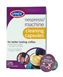 Urnex Nespresso Machine Cleaner - 5 Pods