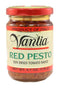 Vantia Red Pesto (Sun Dried Tomato) Sauce 4.7 oz