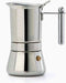 Vev Vigano Vespresso INOX Stainless Steel, 4 Cups