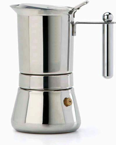 Vev Vigano Vespresso INOX Stainless Steel, 2 Cups