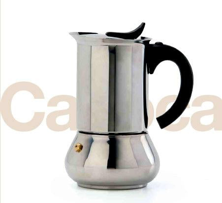 Vev Vigano Carioca Color, Stainless Steel, 6 cups